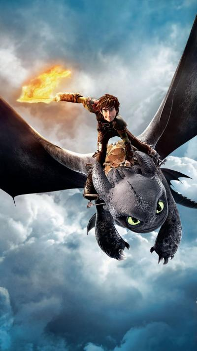 3D How to Train Your Dragon Wallpaper Background - Supportive Guru