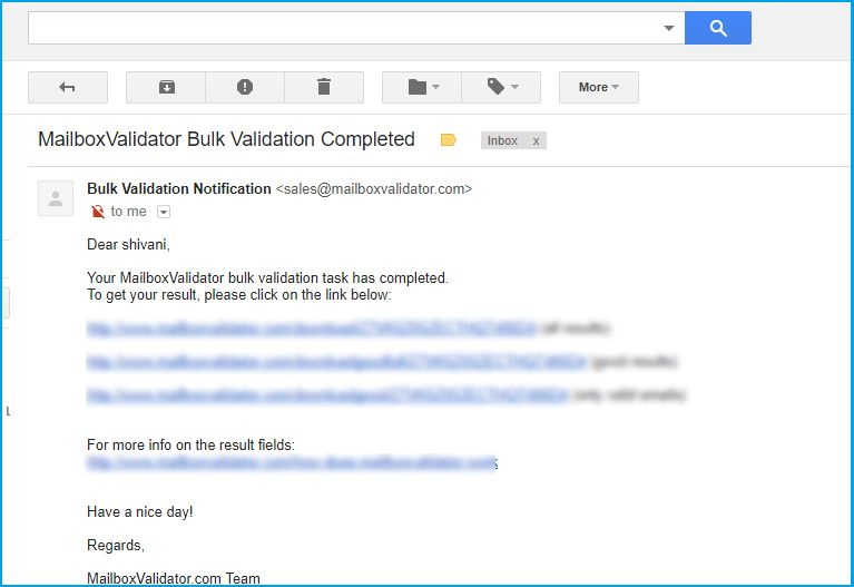How To Validate Your Email List With MailboxValidator - valid emails
