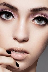 nude-lipstick-and-pink-make-up