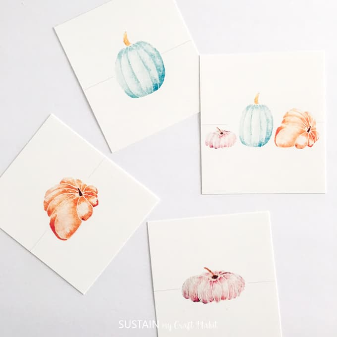 Decorating A Table for Thanksgiving - Place Card Ideas - shabbyfufu