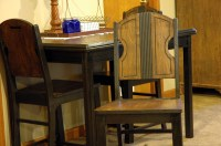 Man Cave table and chairs | ShabbyLisaW