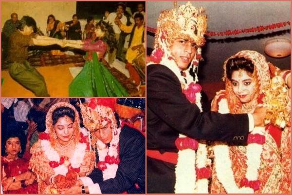 shahrukh wife gauri khan shadi