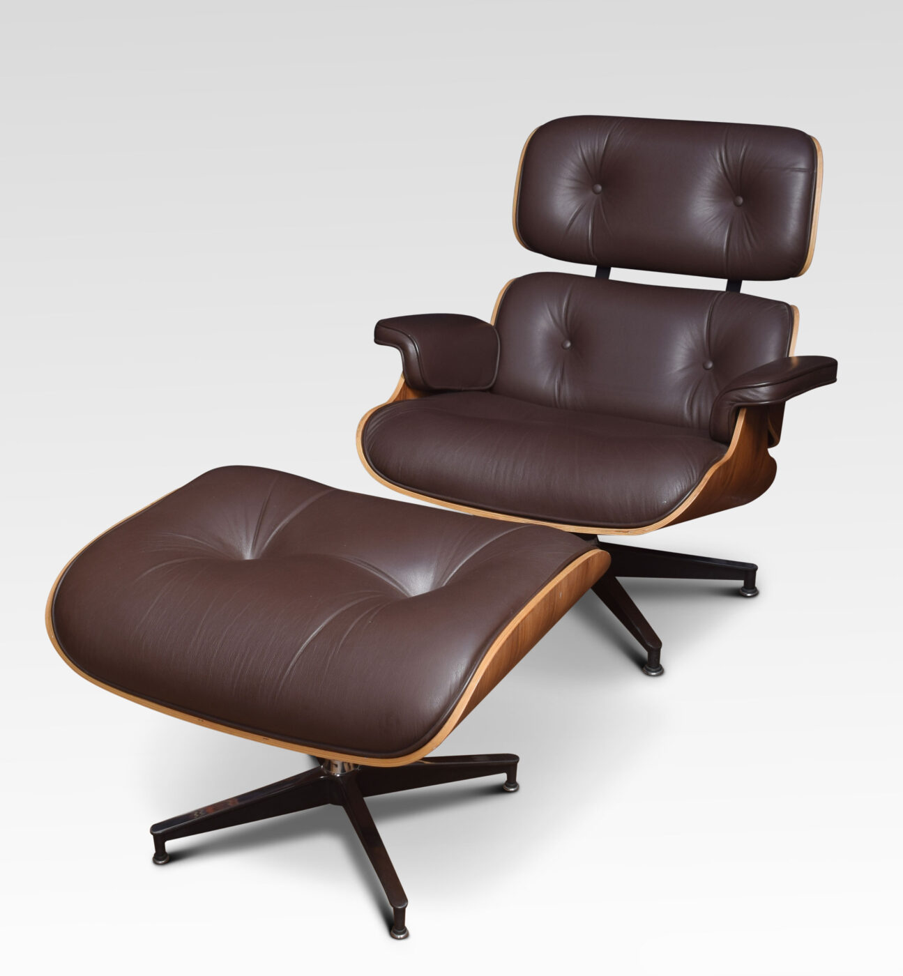 Charles Eames Lounge Chair Lounge Chair And Stool After Charles Eames – Shacklady's Antiques