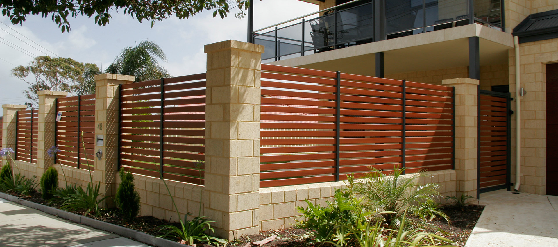 Bamboo Screen Perth Aluminium Fencing Slat Shade Blinds Perth