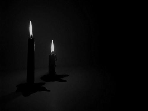 Black Light Wallpaper Candles Shadedbower
