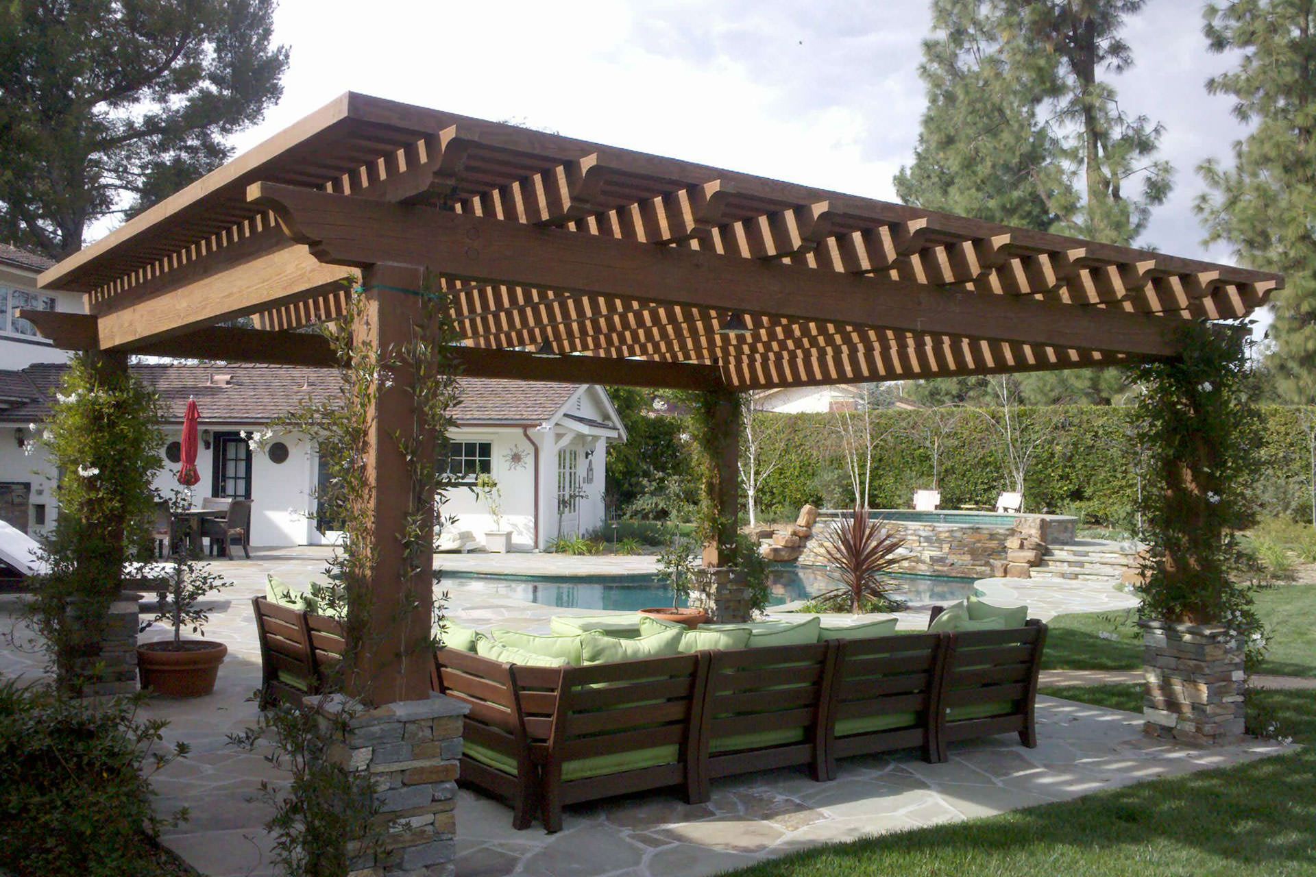 Cover Patio Pergola Pergola Roof Ideas What You Need To Know Shadefx Canopies