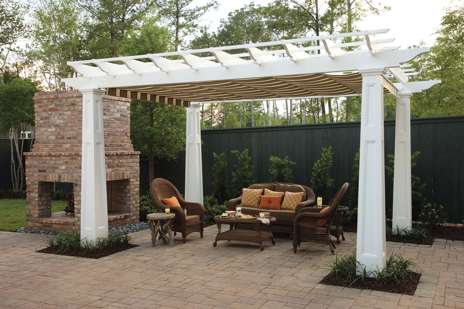 Outdoor Curtain Fabric By The Yard Pergola Shade Pratical Solutions For Every Outdoor Space
