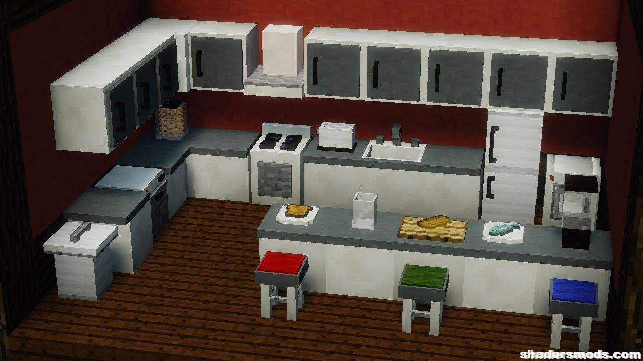 Minecraft Kitchen Mod 1.12.2 Mrcrayfish S Furniture Mod For Minecraft 1 12 2 1 11 2 1 10 2