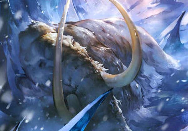 シャドウバース 新カード 氷漬けの巨象 環境をぶっ壊す恐れあり!!?環境破壊するマンモスさんに震えろ