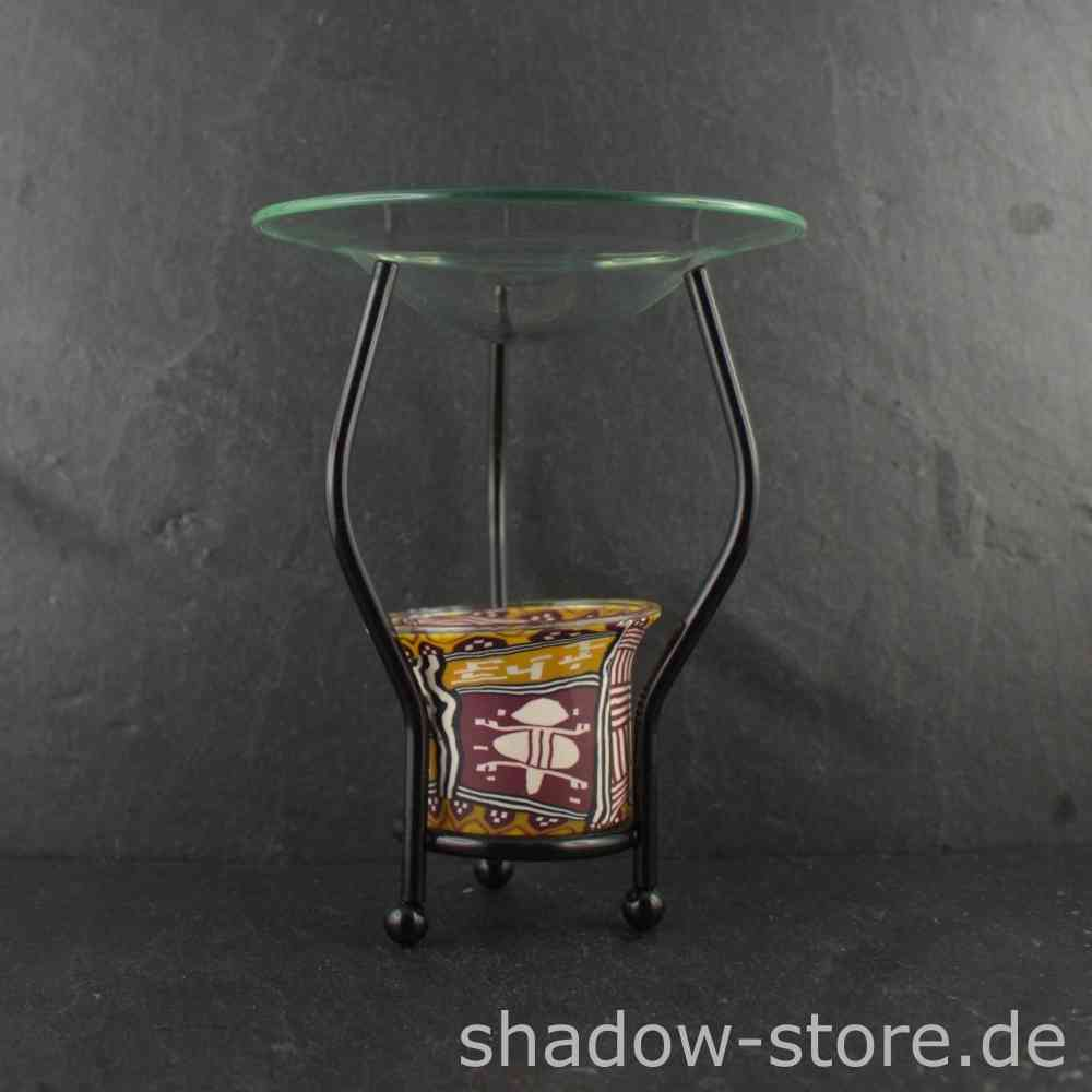 Duftlampe Kaufen African Art Ethno Fimo Aromalampe Kaufen Shadow Store Shop