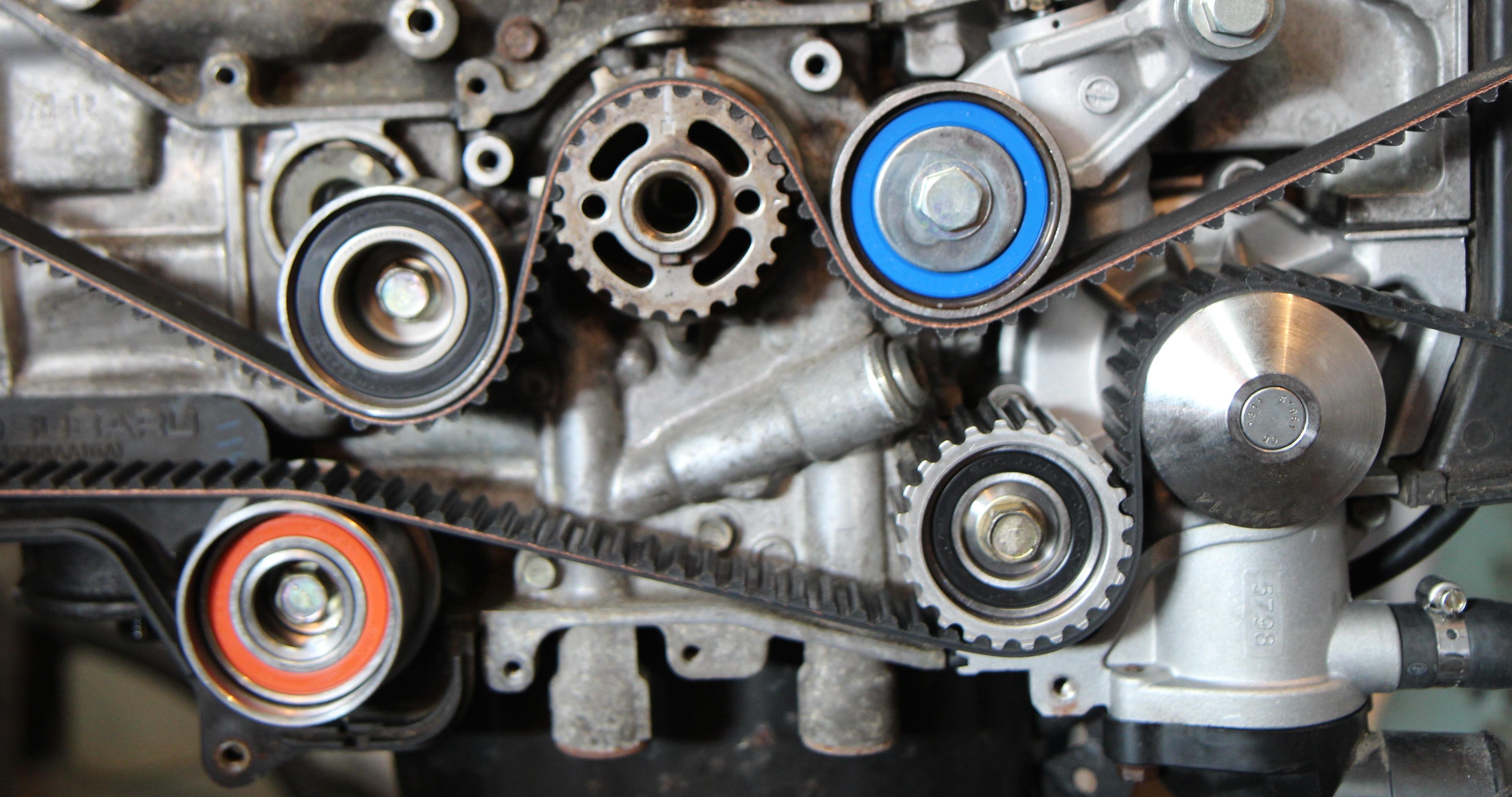 ej25 engine pulley diagram