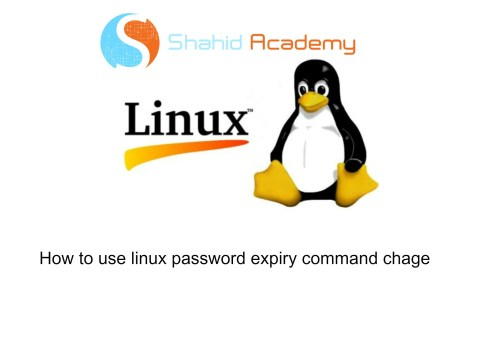 Linux-password-aging