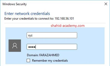 windows security credentials