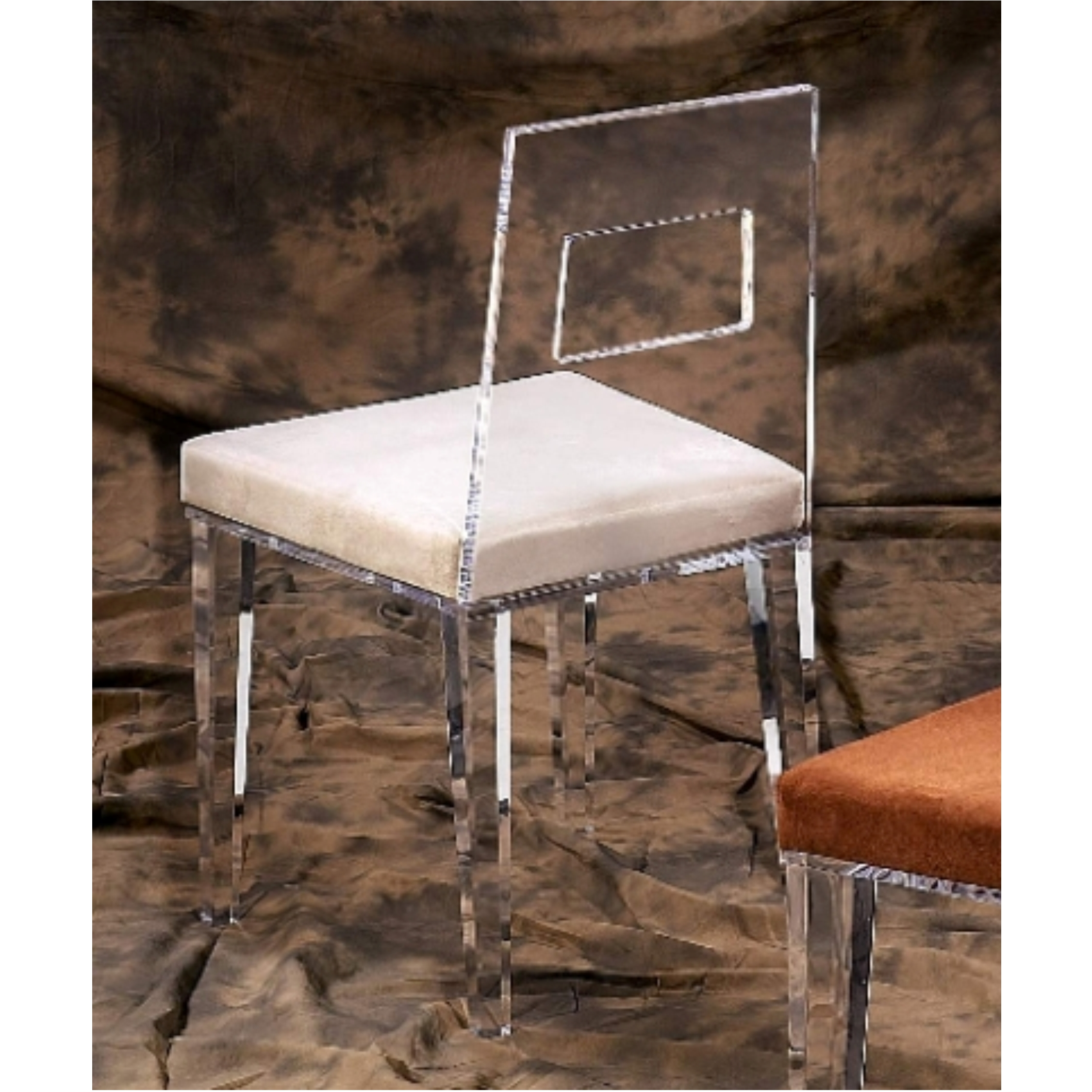 Acrylic Dining Chairs Contempo Clear Dining Chair Acrylic Dining Chair Acrylic