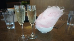 Champagne and Cotton Candy