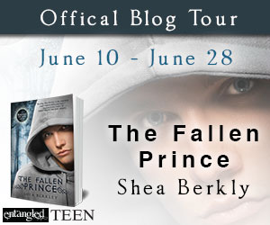 Shea Berkley's The Fallen Prince blog tour