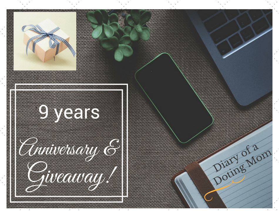 9 years a Mom: An Anniversary and a Giveaway