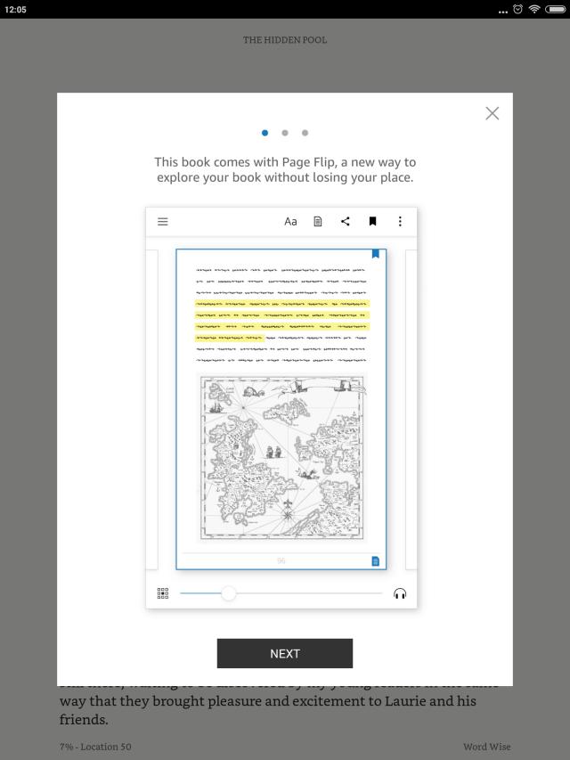 Kindle_Page Flip