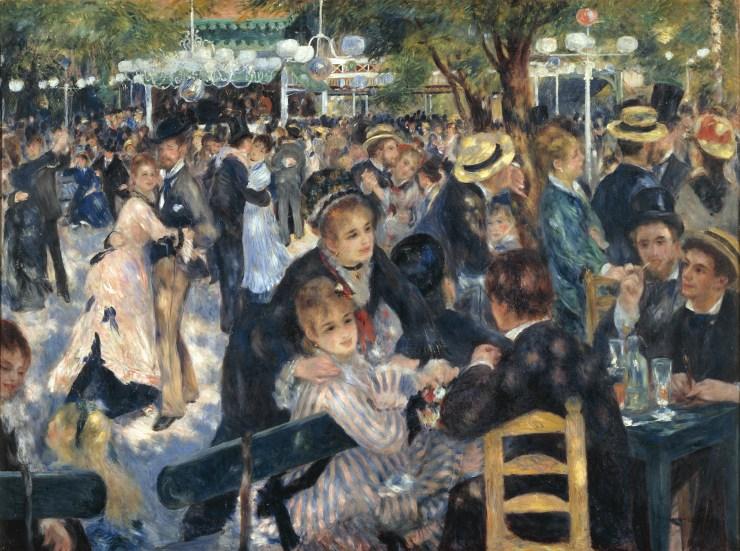 Pierre-Auguste Renoir - Bal du moulin de la Galette - Famous Artworks
