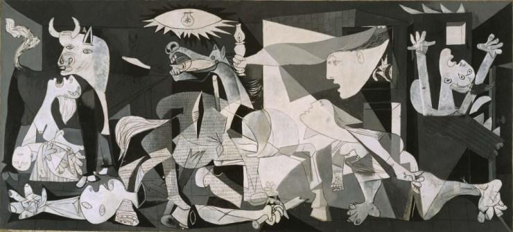 Pablo Picasso  - Guernica  - Famous Oil Paintings- www.shairart.com