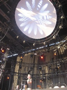 Bob Weir and the Dead visual screen