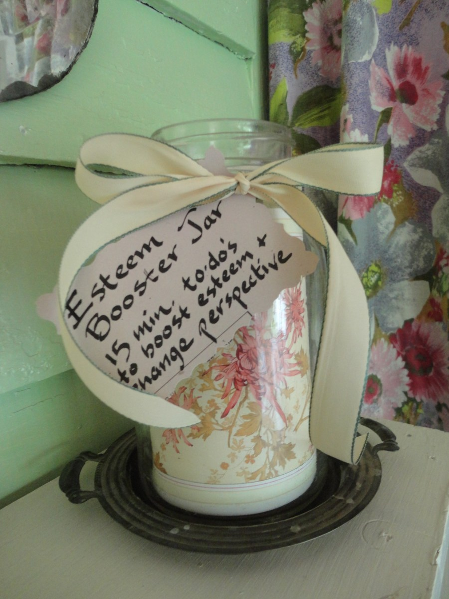 Self Esteem Booster Jar