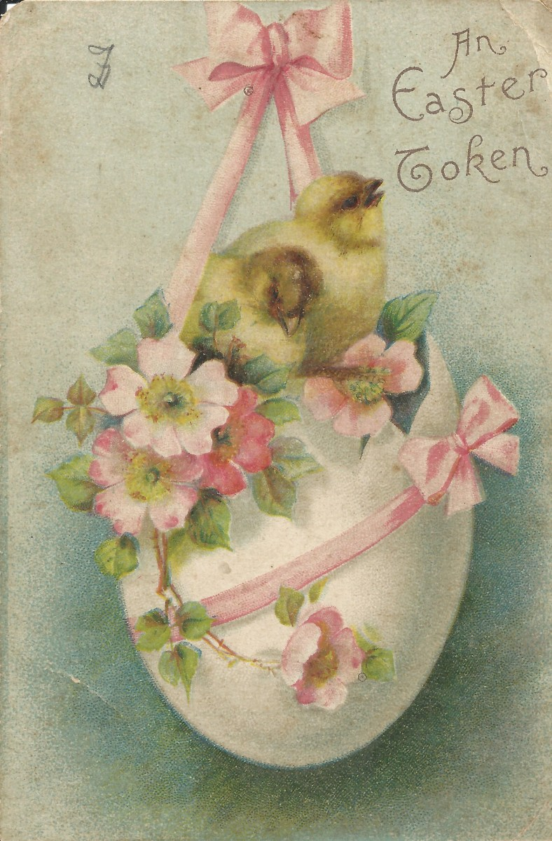 My Vintage Easter Postcards