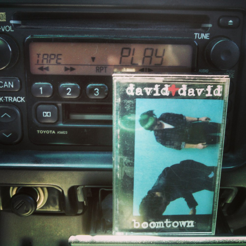 David and David casette tape from Blue Huesday on Shalavee.com
