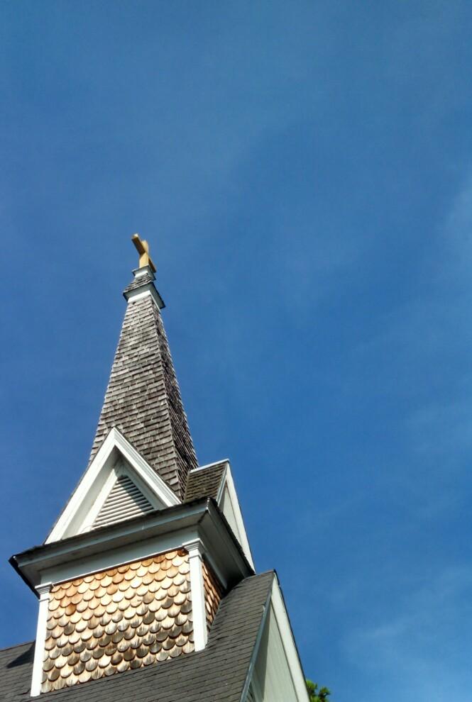 The church next door from Blue Huesday on Shalavee.com