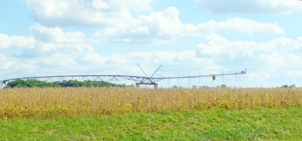 The Giant Sprinkler Beast Eastern Shore farmland on Shlavee.com
