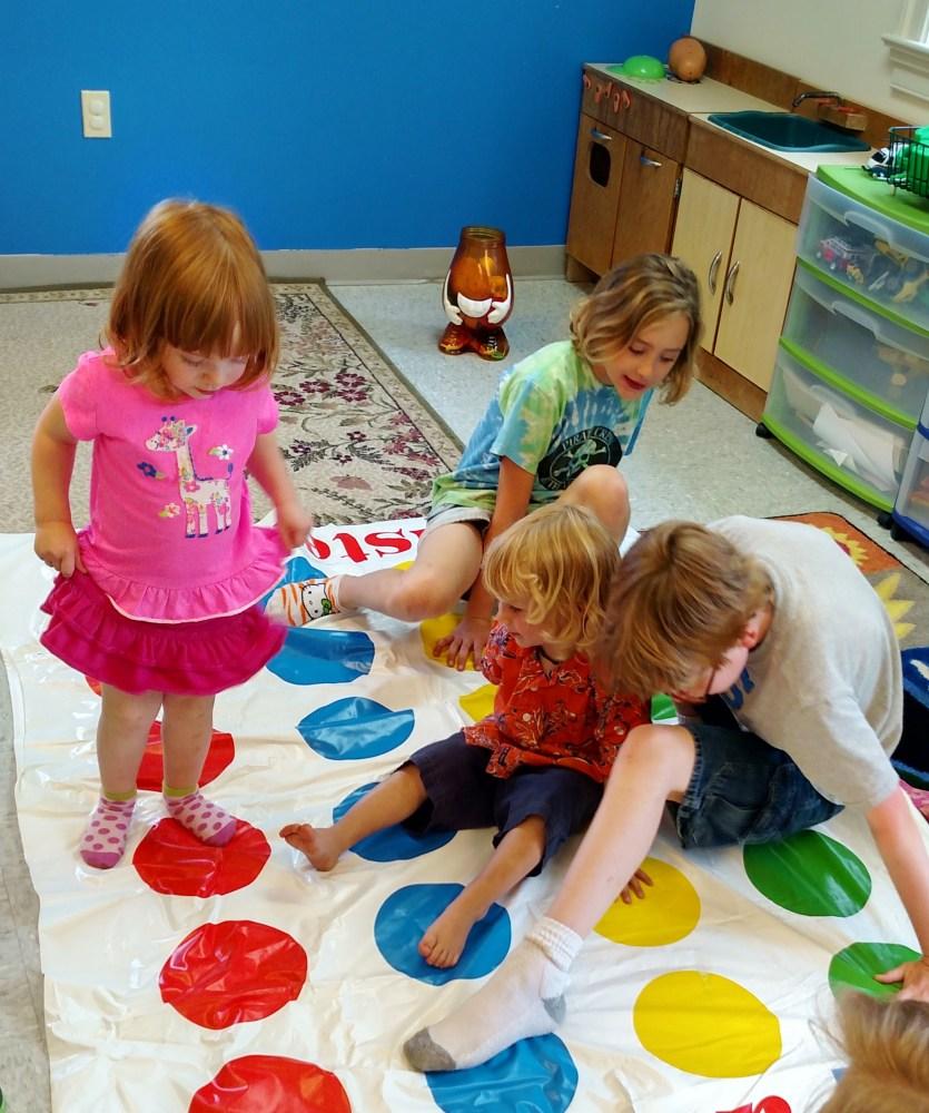 Twister at church on Shalavee.com