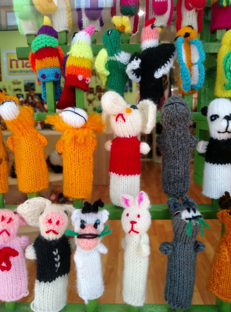 Shopping in Annapolis and I want every stinkin' one of these wacky little finger puppets in Annapolis on Shalavee.com