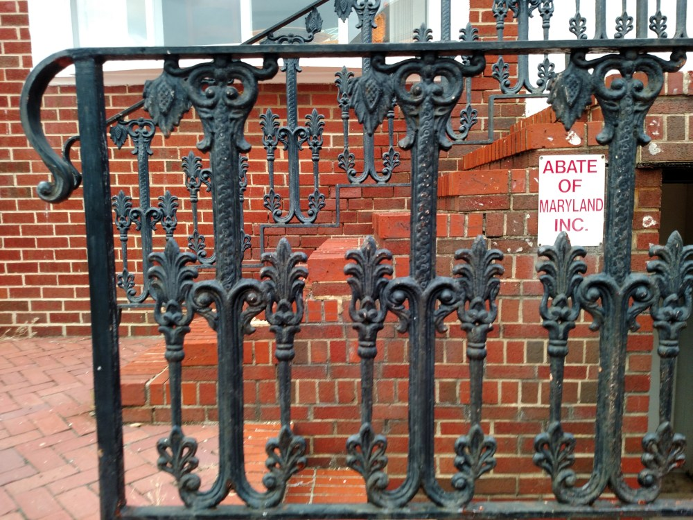 Wrought iron goes right to my heart in Annapolis, MD on Shalavee.com