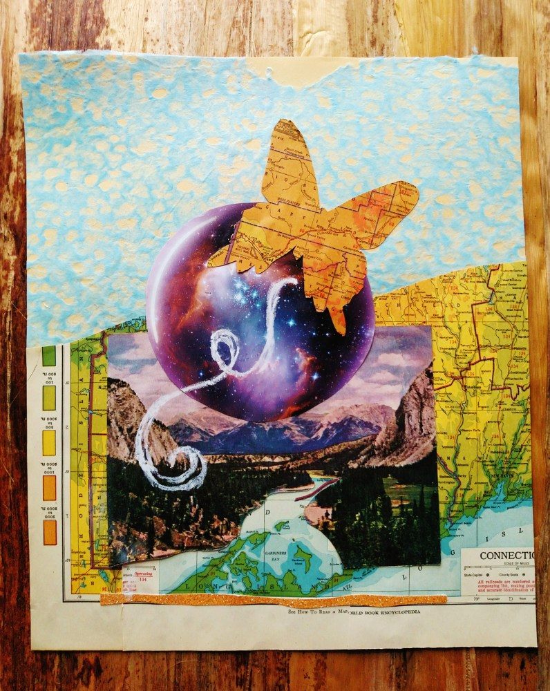 The Butterfly Effect, collage by Shalagh on Shalavee.com