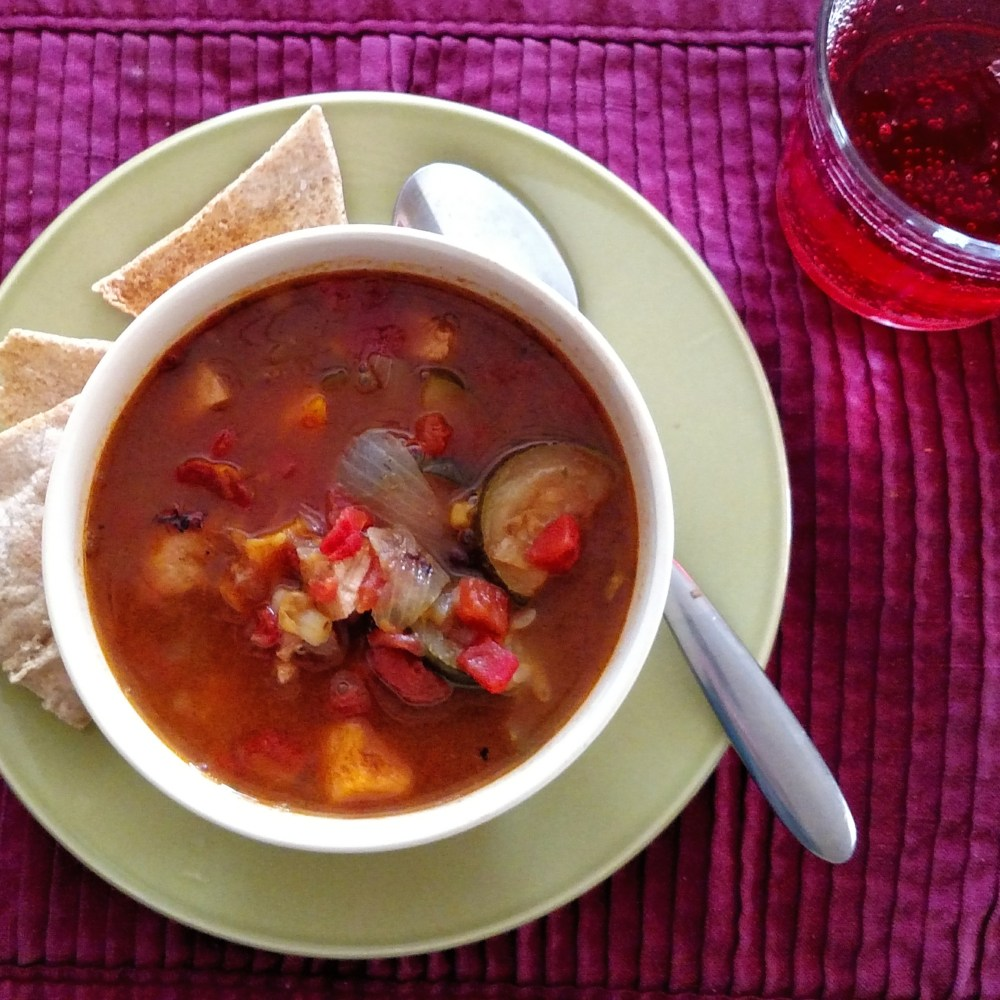 Brazillian ham and bean soup on Shalavee.com