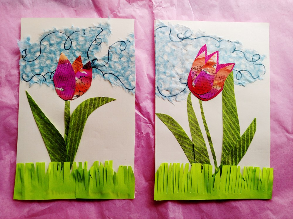 Collage Tulips on Shalavee.com