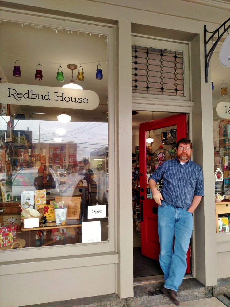 John Lansing and his Redbud House shop on Shalavee.com