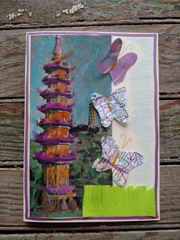 My Painted Pagoda card on Shalavee.com