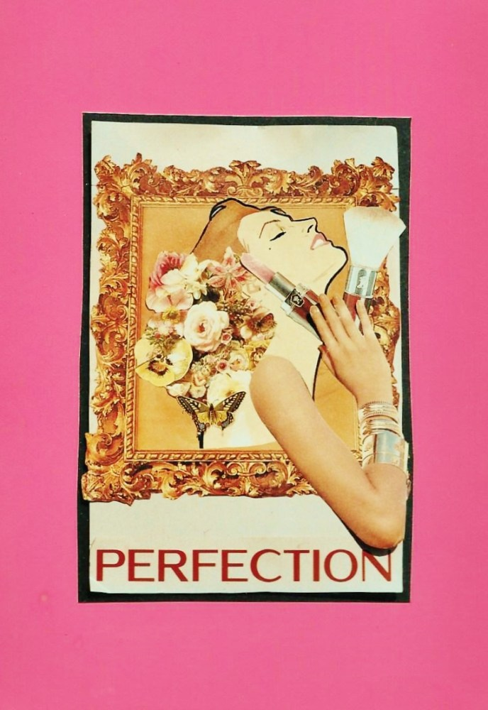 Perfection, collage by Shalagh on Shalavee.com