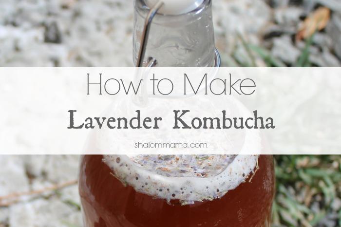 How to Make Lavender Kombucha