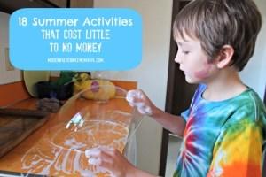 18 Summer Activities that Cost Little to No Money