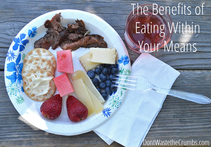 Our Journey to Real Food: The Benefits of Eating Within Your Means