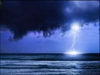 Lightning Storm At Sea | www.pixshark.com - Images ...
