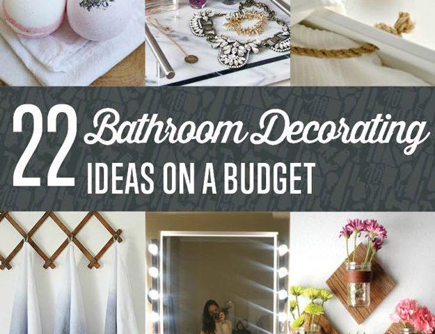 Bathroom Design Ideas On A Budget - bathroom decorating ideas on a budget