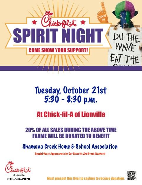Tuesday Dinner Chick-fil-A It\u0027s a date! Shamona Creek Home
