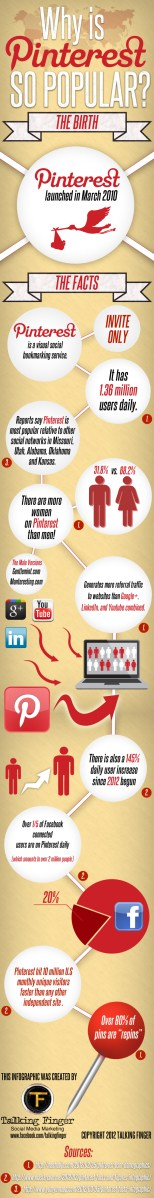 Infographic: Why is Pinterest so popular?