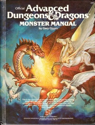 AD&D Monster Manual 1st Edition 2nd Cover