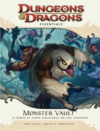 D&D Essentials Monster Vault 4th Edition