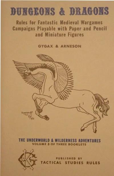 OD&D Volume 3 The Underworld & Wildnerness Adventures