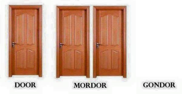 Door Mordor Gondor meme